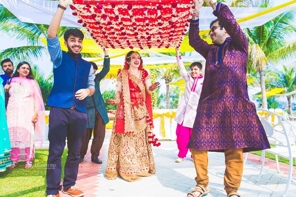 Happy Bride is the Preettiest !!