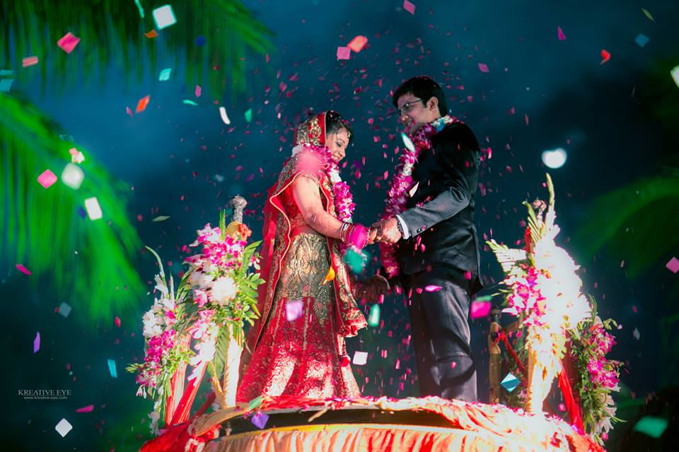 I do wedding moment, a wish for all the dreams to come true