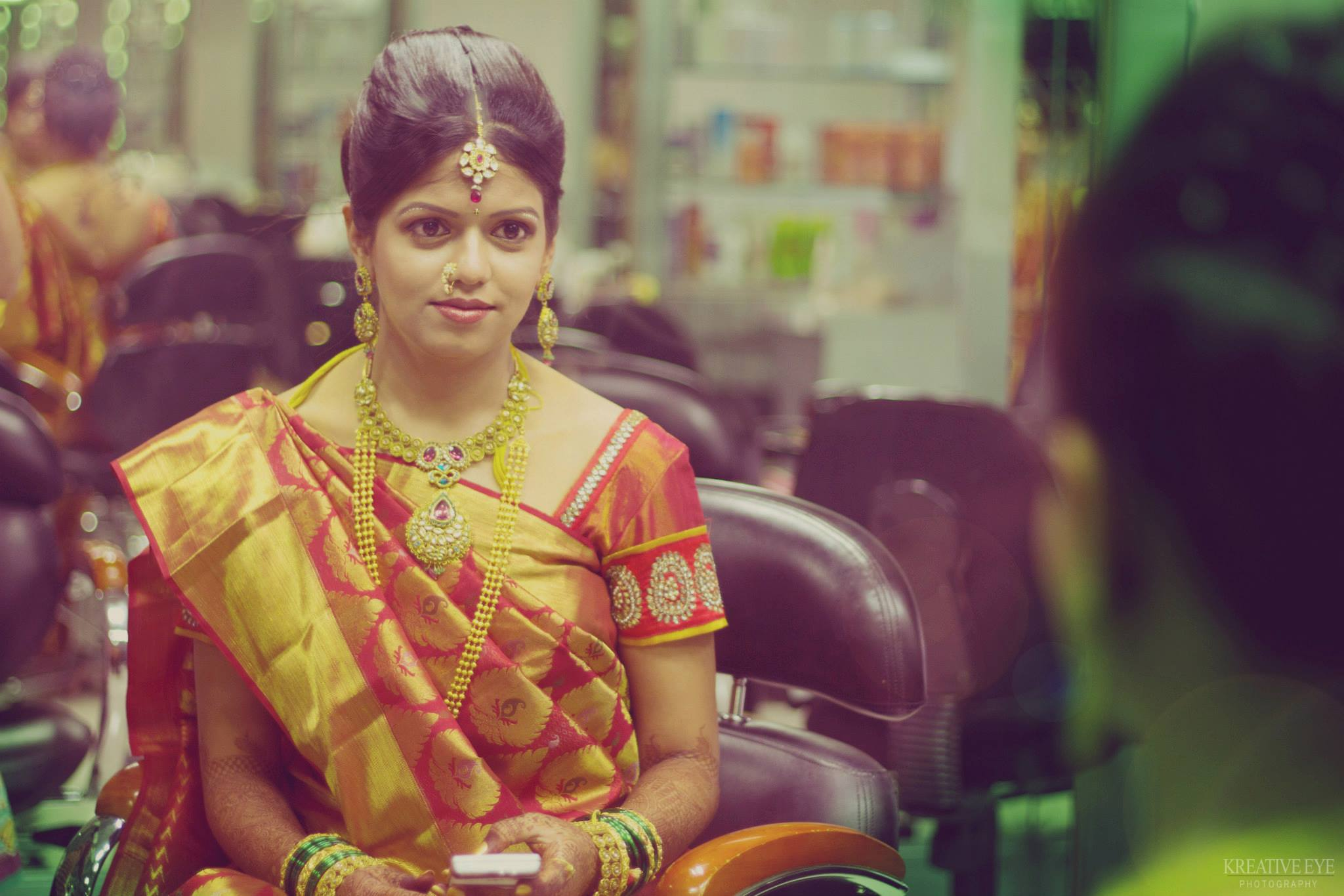 mixed emotions of a bride on the 'D' day