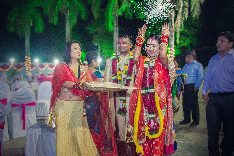 the bride's vidai..