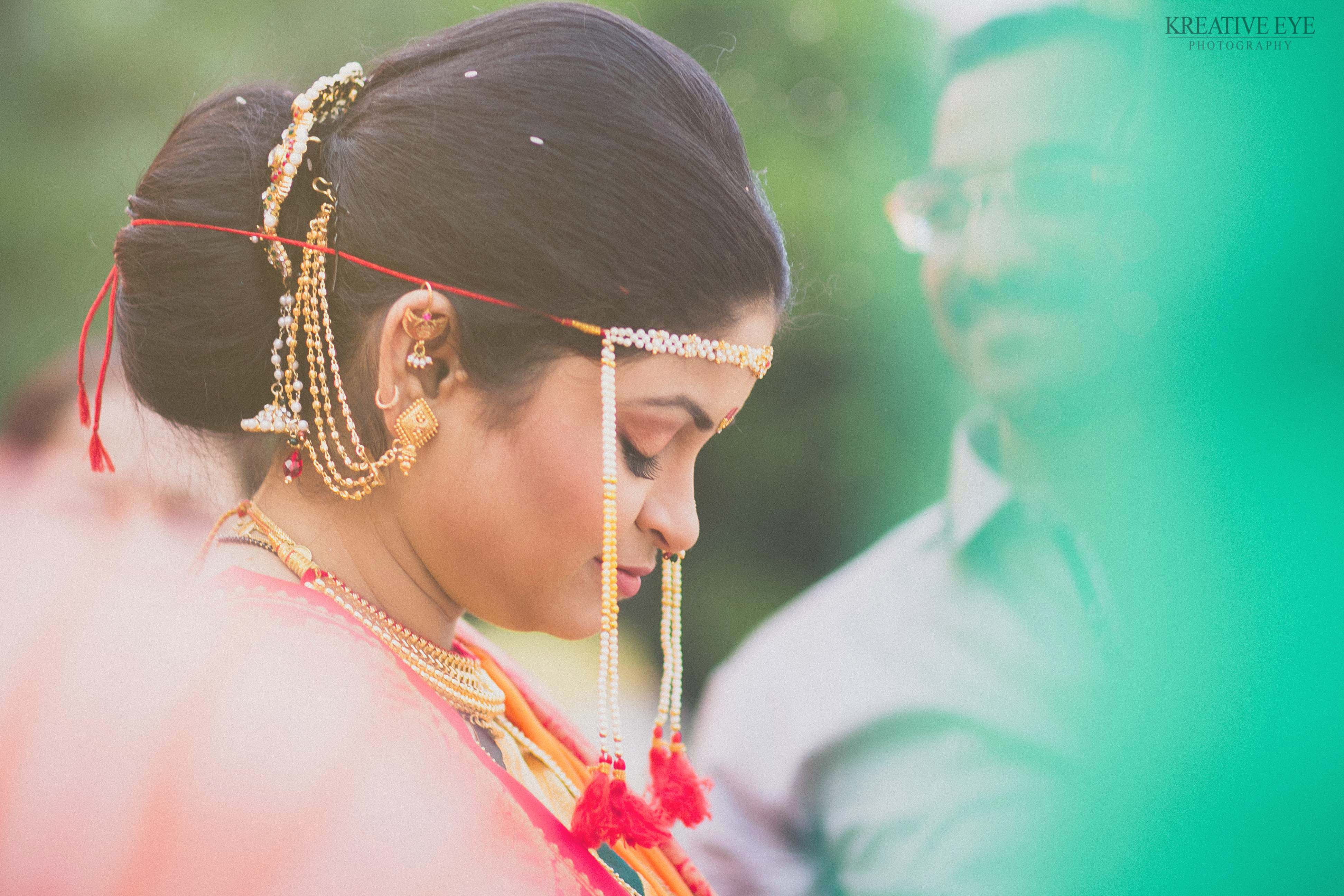 the indescribable calmness on her face just before D moment